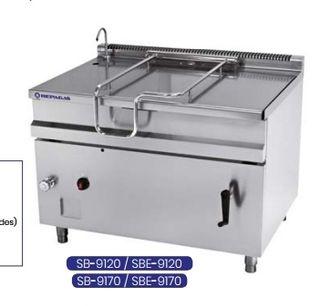 Sarten basculante electrica SBE9120