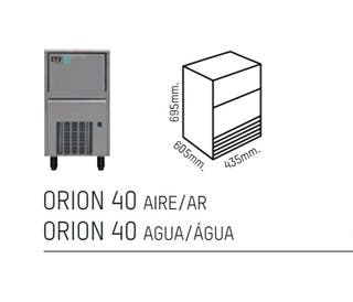 Maquina de hielo Orión 40 Aire