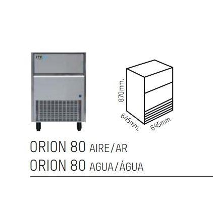 Maquina de hielo Orion 80 Aire