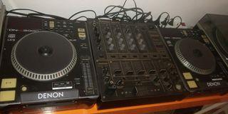 equipo música DJ