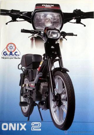 Despiece mobylette motogac onix