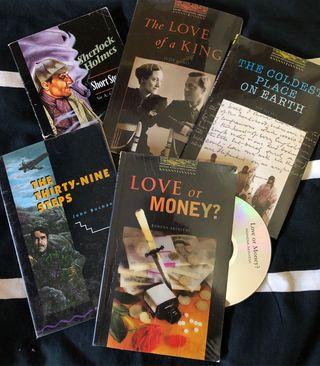 Colección 10 libros de inglés