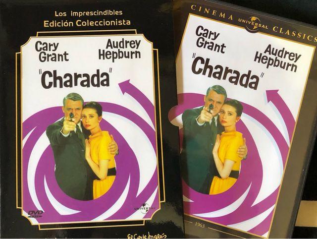 Dvd Charada de Audrey Hepburn