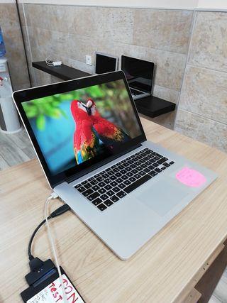Macbook pro 15 - 4 nucelos i7 ssd