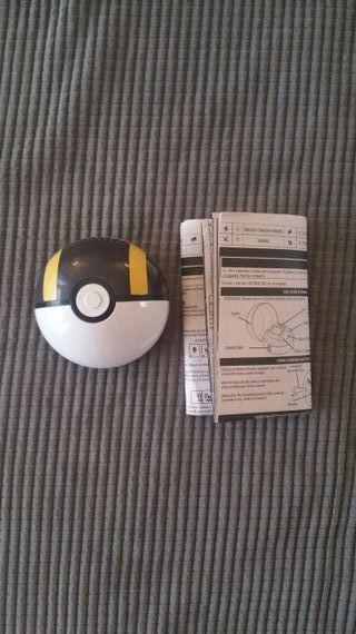 Pokemon cyber ultraball negra