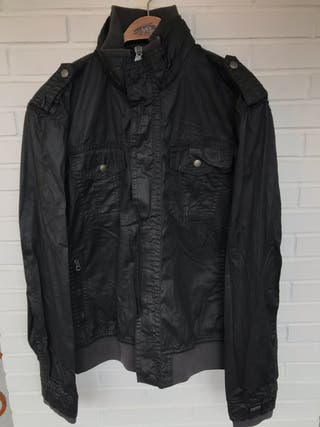 Cazadora algodón encerado capucha LEVIS talla XL