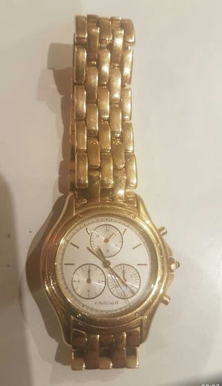 patek phillipe y cartier chrono en oro 18 qlts