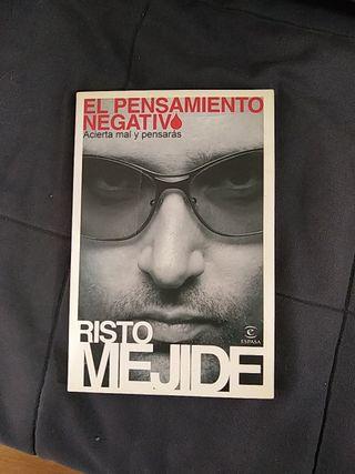 Libro Risto Mejide El Pensamiento Negativo