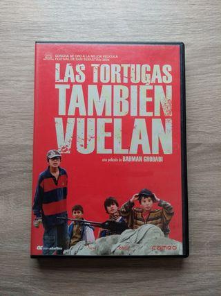 CINE, PELICULA, DVD, LAS TORTUGAS TAMBIÉN VUELAN