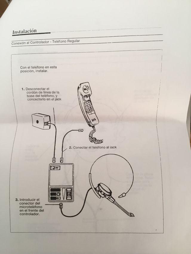 Auricular Lucent, con controlador