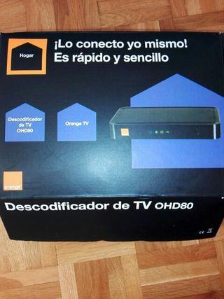 Docodificador Tv OHD80 orange