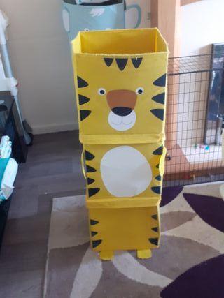children storage boxes