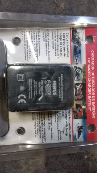 cargador baterias Moto