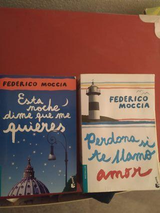 Lote libros Federico Moccia