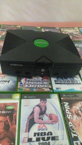 Xbox con 21 juegos
