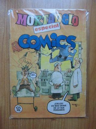 MORTADELO ESPECIAL COMICS EDITORIAL BRUGUERA 1984