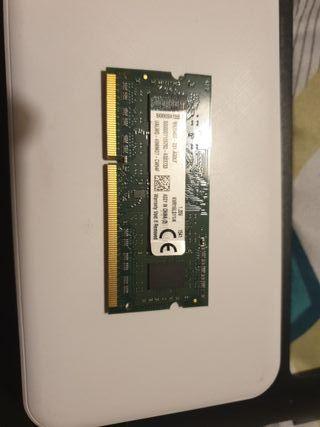4Gb Memoria RAM para portátil DDR3L