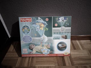 Movil-Proyector 2 en 1 Fisher-Price para cuna