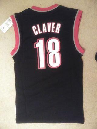 Portland Trail Blazers Claver NBA jersey Adidas