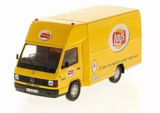 Preciosa furgoneta MERCEDES MB 140 LAYS 1:43