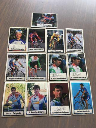 Cromos Vuelta Ciclista
