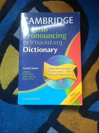 Diccionario English pronouncing Cambridge