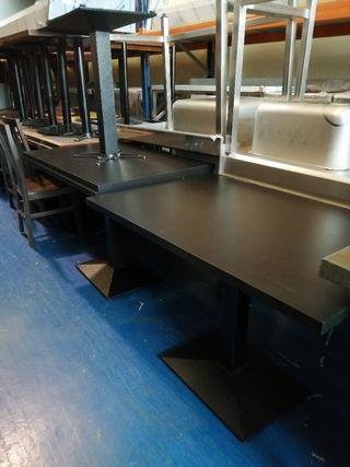 Mesas 1,20 para bar restaurante segunda mano