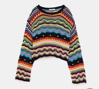 Jersey zara multicolor