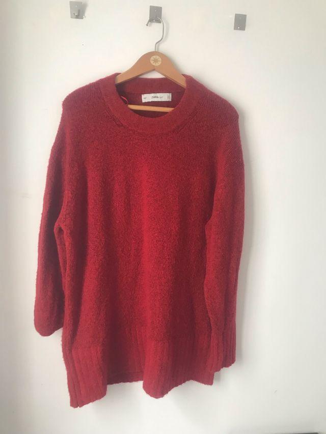 Jersey rojo Zara