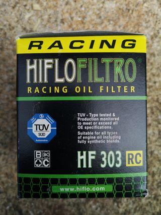 Filtro de aceite Hiflofiltro HF303RC
