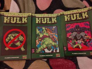 El increíble Hulk. 3 comics