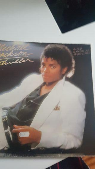 vendo vinilo de michael Jackson