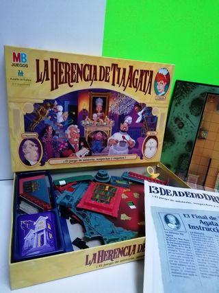 "LA HERENCIA DE TIA AGATADE PARKER 1996""!!"