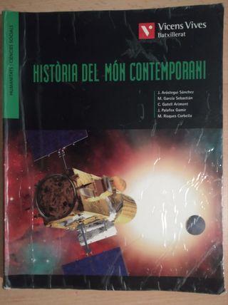 Libro Història del Món Contemporani Bachille