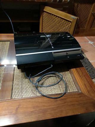 PS 3 Fat 40GB + juegos + un mando nuevo