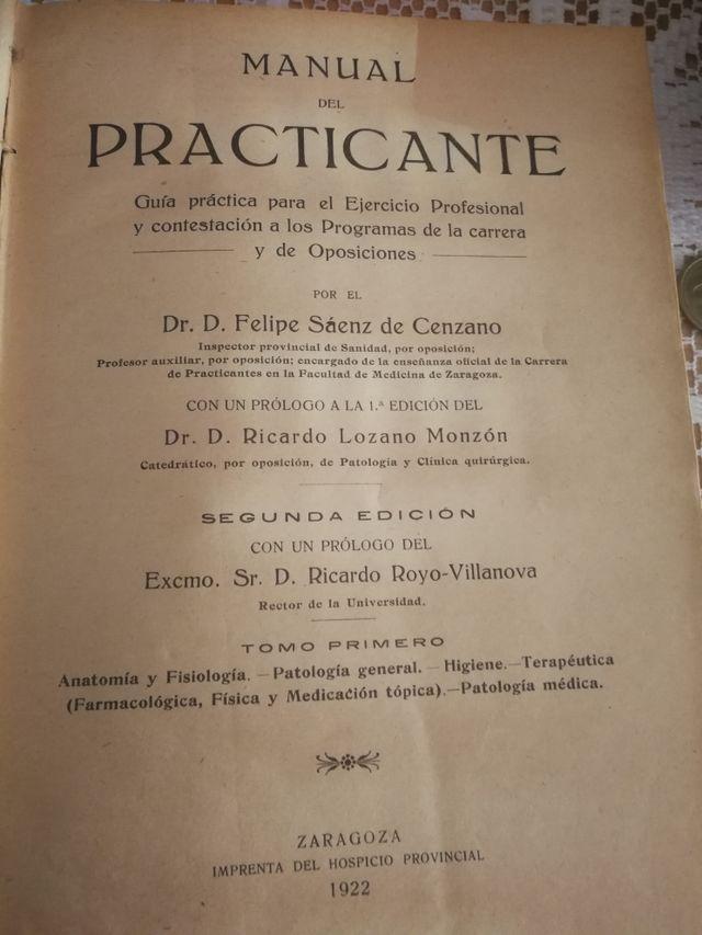 LOTE DE LIBROS DE MEDICINA, ANTIGUAS