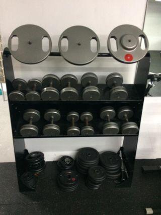 Mancuernas / pesas / discos entrenamiento