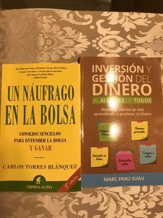 2 libros de inversión