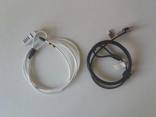 Cable seguridad portatil