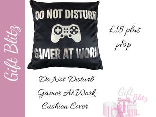 Do Not Disturb Cushion Cover
