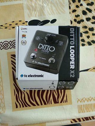 Pedal Ditto Looper x2 de tc electronics