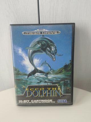 juego Ecco the dolphin de sega mega Drive
