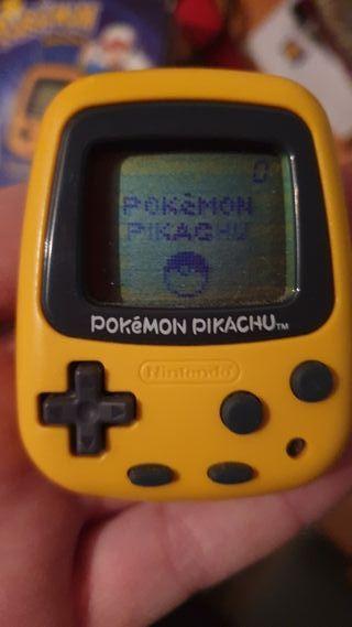 tamagotchi pokemon pikachu nintendo