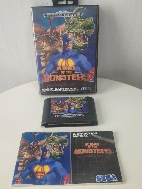 King of the Monsters de sega mega Drive completo
