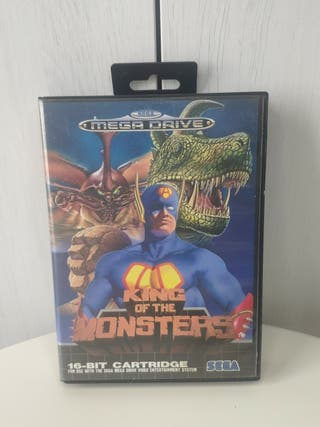 King of the Monsters de sega mega Drive completo