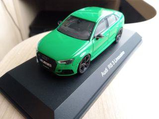 maqueta Audi A3 RS3 RS 3 escala 1:43 iScale