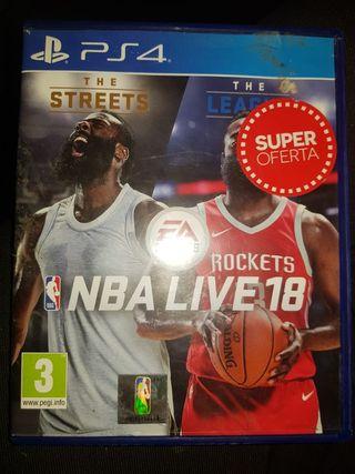 juego de NBA 18