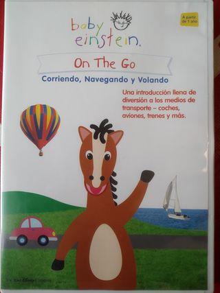 """DVD Baby Einstein """"On the go"""""""