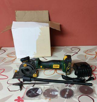 sierra circular multimaterial nueva a bateria