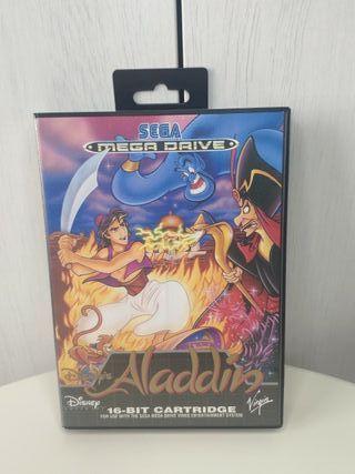 juego Aladdin sega mega Drive completo